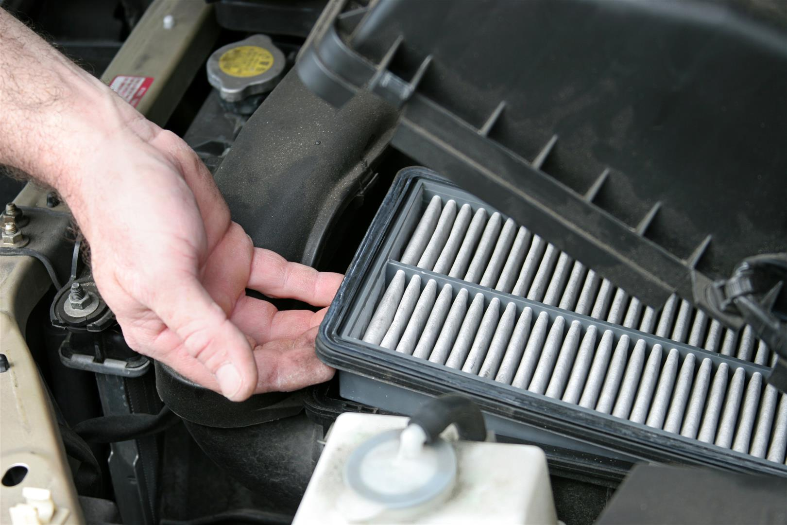 Change Air Filter to Keep Spring Allergies at Bay