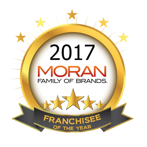 Moran Family of Brands Announces 2017 Franchisees of the Year