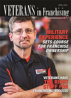MILITARY EXPERIENCE SETS COURSE FOR FRANCHISE OWNERSHIP